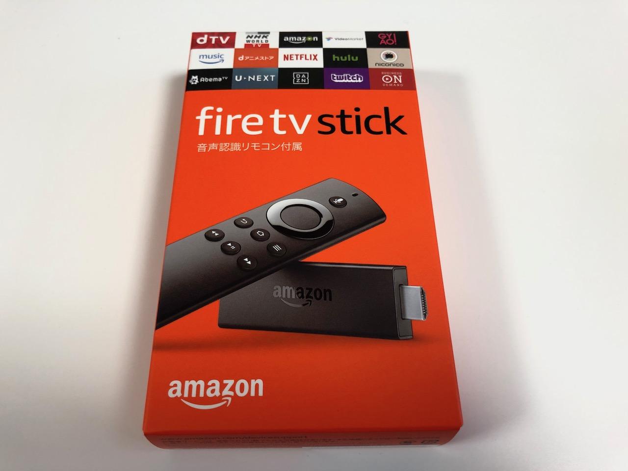 再びamazonのFireTV Stickを買ってしまった!年末年始はドキュメンタルと映画三昧で過ごす!